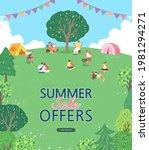 summer shopping event... | Shutterstock .eps vector #1981294271
