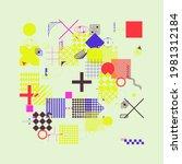 generative design artwork... | Shutterstock .eps vector #1981312184