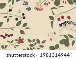 vector color hand drawn square... | Shutterstock .eps vector #1981314944