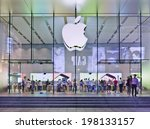 Shanghai June 5  2014. Apple...
