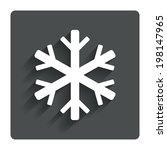 snowflake sign icon. air...