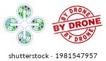 winter coronavirus combination... | Shutterstock .eps vector #1981547957