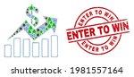 winter covid 2019 mosaic sales... | Shutterstock .eps vector #1981557164