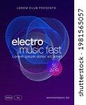 electronic fest. creative show...   Shutterstock .eps vector #1981565057