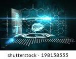 digitally generated medical... | Shutterstock . vector #198158555