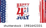 usa happy 4th of july... | Shutterstock .eps vector #1981642331