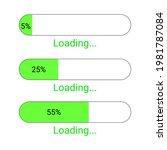 load progress bar icon 5   25   ...