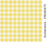 Pale Yellow Gingham Pattern...