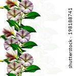 wildflowers creepers | Shutterstock . vector #198188741