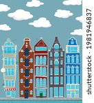 Vector Illustration Houses Of...