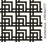 geometric seamless pattern.... | Shutterstock . vector #1981964777