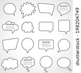 Dialogue Cloud. Vector...