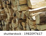 Stack Of Wood  Firewood Texture ...