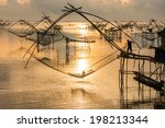 Life Asian Fisherman And...
