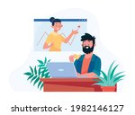 online class  e learning ...   Shutterstock .eps vector #1982146127