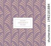 art deco floral seamless...   Shutterstock .eps vector #1982181884