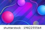 trendy abstract background.... | Shutterstock . vector #1982255564