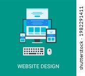 web design vector illustration...