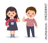 vector illustration cartoon of...   Shutterstock .eps vector #1982308907