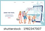 online booking tickets and...   Shutterstock .eps vector #1982347007