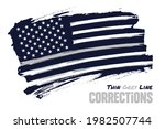 thin gray line  distressed...   Shutterstock .eps vector #1982507744