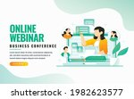 online class  e learning ...   Shutterstock .eps vector #1982623577