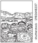 petrified forest national park...   Shutterstock .eps vector #1982648237