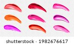 lipstick smears  swatches of... | Shutterstock .eps vector #1982676617