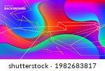 abstract vector background in... | Shutterstock .eps vector #1982683817