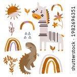 summer collection. vector...   Shutterstock .eps vector #1982696351