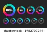 set of loading bar vector...   Shutterstock .eps vector #1982707244