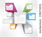 isometric 3d style infographics ...