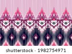 ikat tribal indian seamless... | Shutterstock .eps vector #1982754971