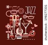 "graphic design with text ""jazz"".... 