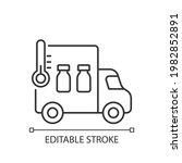 vaccine transportation linear... | Shutterstock .eps vector #1982852891