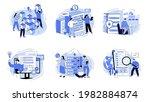 business intelligence ...   Shutterstock .eps vector #1982884874