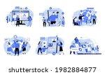 social media promotion and... | Shutterstock .eps vector #1982884877