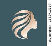 hair salon and beauty studio...   Shutterstock .eps vector #1982913314