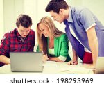 education and internet  ... | Shutterstock . vector #198293969