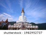 White Buddha Statue At Wat Pha...
