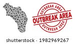 outbreak area distress seal ... | Shutterstock .eps vector #1982969267