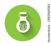 white poison in bottle icon...   Shutterstock .eps vector #1982969381