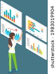 visualize with business... | Shutterstock .eps vector #1983019904