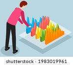 visualize with business... | Shutterstock .eps vector #1983019961