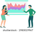 couple discussing financial...   Shutterstock .eps vector #1983019967