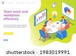 visualize with business... | Shutterstock .eps vector #1983019991