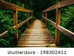 Small Bridge On A Trail In...