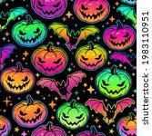 seamless pattern of bright... | Shutterstock .eps vector #1983110951