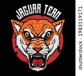 wild animal predator jaguar... | Shutterstock .eps vector #1983119171