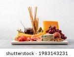 Assorted Cheese  Ham  Fruit ...
